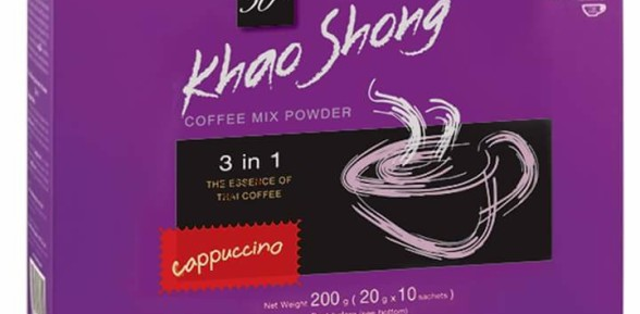 Kopi Khao Shong Cappuccino 200 gr