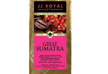 Kopi JJ Royal Great Sumatera Blend 200 gr