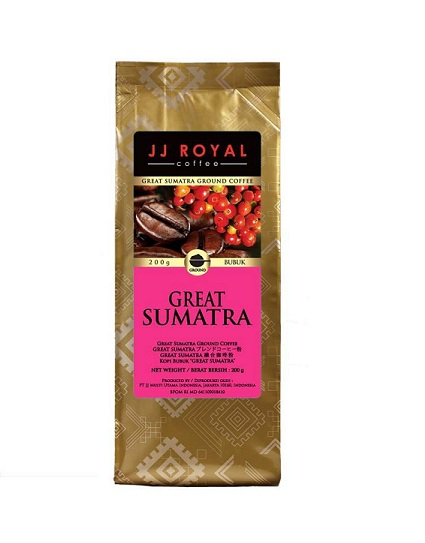Kopi JJ Royal Great Sumatera 200 gr