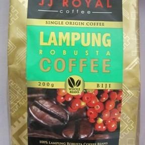 Kopi JJ Royal Lampung Robusta 200 gr