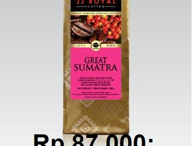 Kopi JJ Royal Great Sumatera Blend 200 gr