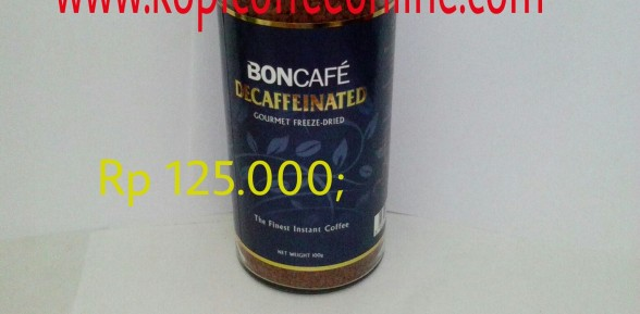 Kopi Boncafe Decaffeinated 50gr 100 gr