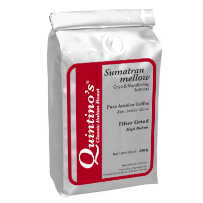 kopi quintino's SumatranMellowFG-250g