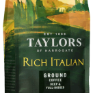 Kopi Taylors Rich Italian Ground Coffee 227 gr