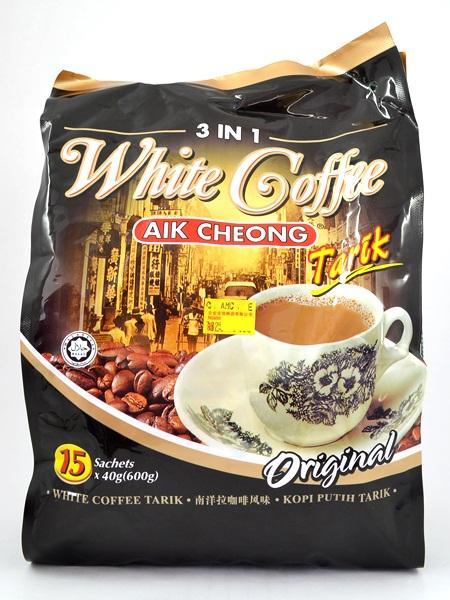 kopi aik cheong white coffee tarik