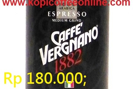Kopi Caffe Vergnano 1882 Medium Grind 250 gr