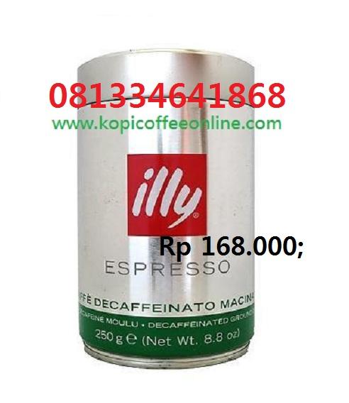 Kopi Illy Espresso Decaffeinato bubuk - Copy (2)