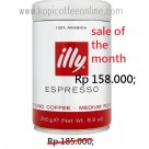 Kopi Illy Espresso ground coffee medium roasted - Copy (2)