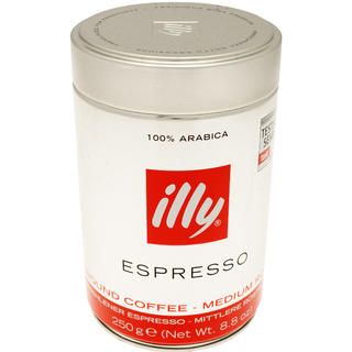 kopi illy espresso ground coffee